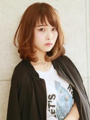 サラ髪☆小顔ミディアム