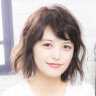 【ふんわりモテ髪♪】カット+ゆるふわパーマ