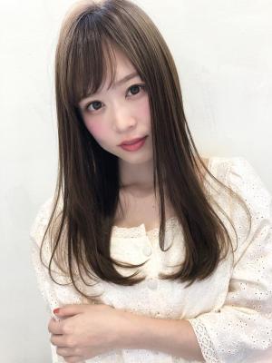 【髪質改善ケアサロンVEARITE栄】地毛風ストレート@樋口
