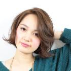 ☆短時間プラン☆ リタッチカラー+カット