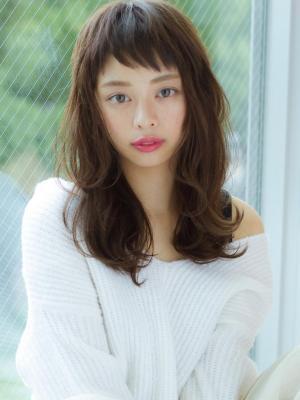 【Reginavita栄】ふんわり色っぽゆるヘア@マイコ