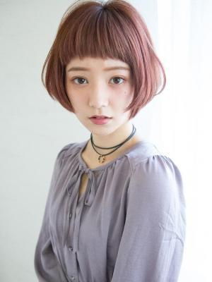 【Reginavita早川】秋カラー小顔ショートボブ
