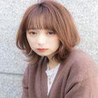 (人気メニュー♪)前髪カット+デザインフルカラー