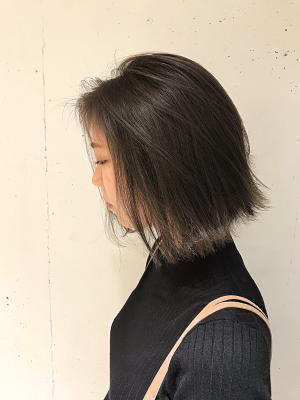 ワンレン切りっぱボブ・モード/山本勝志