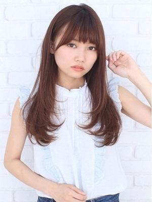 【JUMPUSH 平尾店 美容院】艶感ストレート