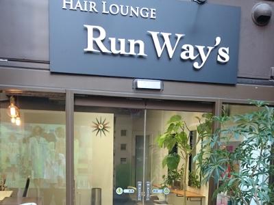 HAIR LOUNGE Run Way's4