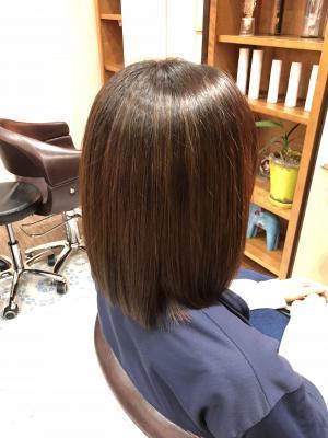 【美髪】サラツヤ大人女子ヘア