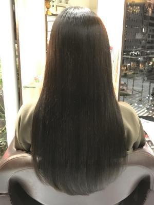滑らかで柔らかな美髪