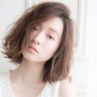 【感動の艶髪へ】グロスカラー+カット