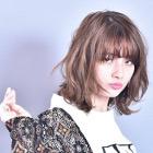 【★平日5名限定★】デザイナーカット+ワンメイクカラー