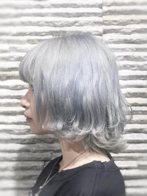シルバーホワイトグレイ【Vis 川口店】