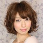 コラーゲンTr+パーマ+カット【ケア度★☆☆☆☆☆】
