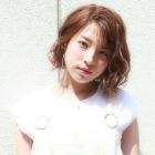 コラーゲンTr+パーマ+カラー(リタッチ)+CUT 【ケア度★☆☆☆☆☆】