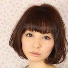 コラーゲンTr+前髪縮毛矯正+CUT【ケア度★☆☆☆☆☆】