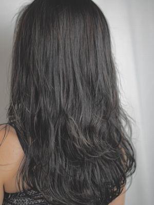 口コミ ディープグレーで色落ち後も可愛いヘア