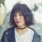 前髪カット+オーガニックカラー(グレイカラーOK)