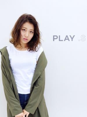 PLAY .S☆シュウエットバレイヤージュセミディ