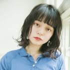 【Cloe☆モテ可愛PLAN】前髪縮毛矯正+デジタルパーマ+カット 9,000円