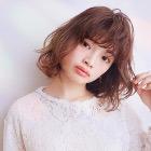溢れる潤い☆パーマ+カット+美髪Tr