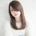 【好感度ストレート(1)】シルク縮毛矯正+小顔カット+水素ケアトリートメント付き