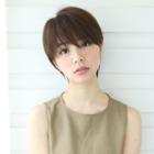 【小顔シルエット】手グシで収まるダイヤモンドcut+オージュアトリートメント