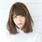 【髪質改善】簡単収まるcut+ホリスティックストレート