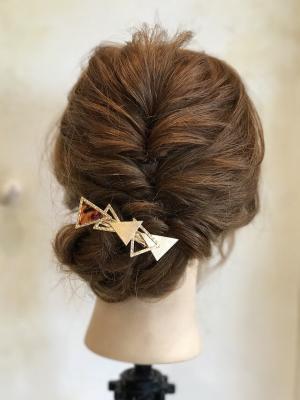 浴衣、お祭り、結婚式に似合うヘアアレンジ