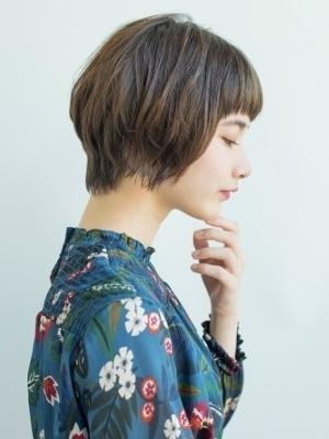 多部未華子的ショートバング☆外ハネが可愛いウェットスタイル