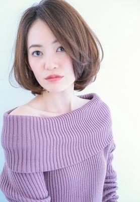 【MINX・山内ヨシヒロ】ひし形ワンカールボブ