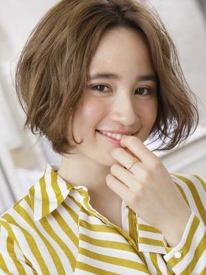 【MINX桜井】エアリーカールでとろみ感。モードショートボブ