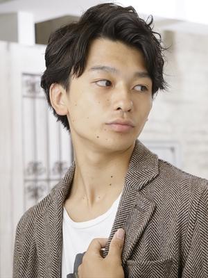 【MINX徳永】メンズ アップバングの大人ショート