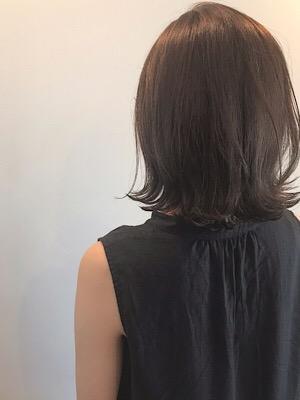 髪質改善艶髪 グレージュカラー