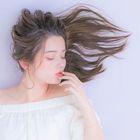 【化粧品登録〇サラつや】◆コスメ縮毛矯正+カット+カラー◆
