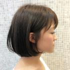 【新コースメニュー】カット+透明感ツヤカラー