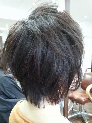 【サロンスタイル】 ショートウルフレイヤー