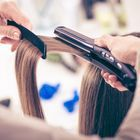 【おさまりの良い艶髪へ】cut+高補修ストレート+前処理付き