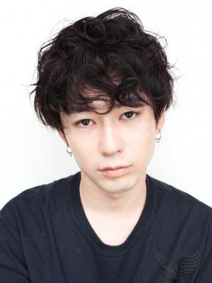 【表参道】Soleil 加藤将大 ミックスパーマショート