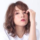 【アッシュ系カラー】カット+THROWカラー+TOKIO TR