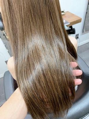 髪質改善オイルカラー