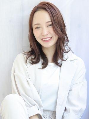 艶×美髪×ミディアム【albero 小原】