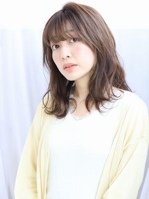 【albero 小原】艶髪×アッシュブラウン