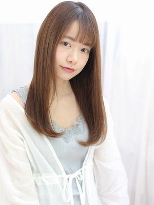 艶髪×ナチュラルストレート