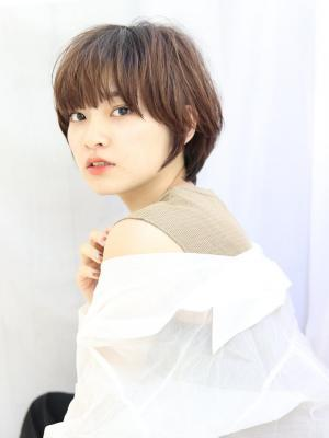 【加藤信綱】長め前髪×大人かわいい小顔ショート夏秋