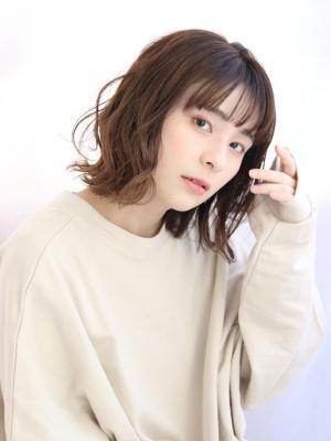 【田辺佳菜】ナチュラルボブ×ニュアンスハイライトカラー