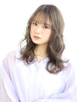 【阿部春菜】人気☆イルミナカラー×ゆるふわウェーブ