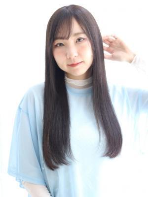 【lagoon三戸】髪質改善*ツヤサラストレート
