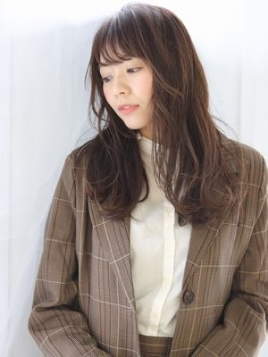 【bouquet】抜け感レイヤー×色っぽい美髪ロング