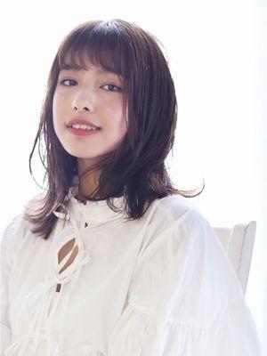 伸ばしかけ☆デジタルパーマ レイヤーミディアム