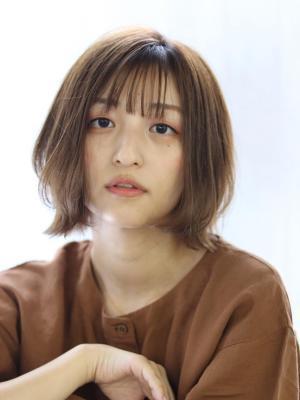 【bouquet】抜け感前髪×レイヤーボブ