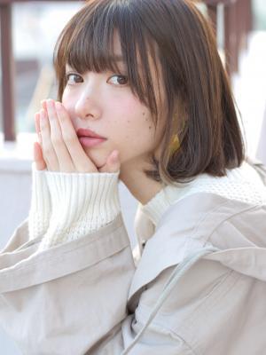【valentine中井】ぱっつん大人ミニマムボブ